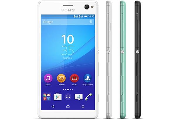 Sony Xperia C4 Dual với 3 lựa chọn màu sắc tinh tế