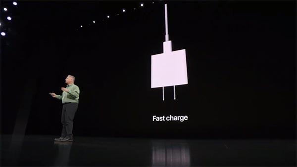 iPhone 11 hỗ trợ công nghệ sạc nhanh