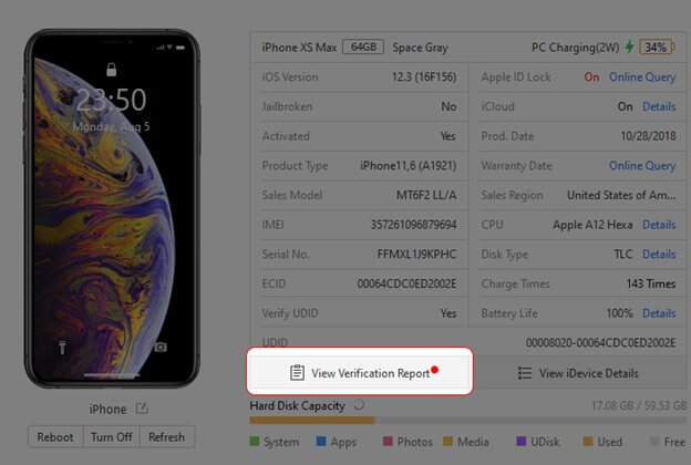 Kiểm tra pin iPhone có phải là chính hãng không?