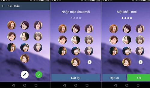 Khóa màn hình bằng hình ảnh trên điện thoại Android