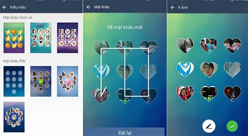 Kiểm tra tính năng khóa màn hình bằng hình ảnh trên Android