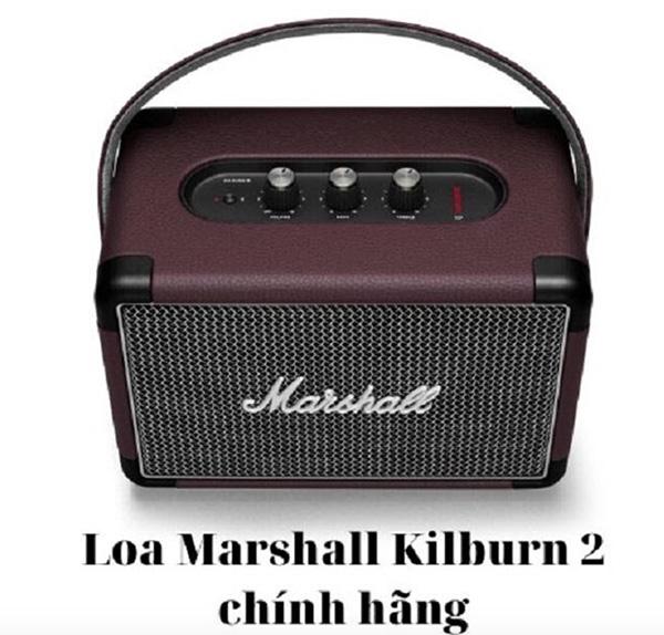 Loa Marshall Kilburn 2 - thiết kế hoài cổ mang tới sự mới mẻ