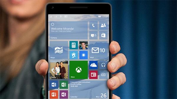 Nâng cấp phiên bản hệ điều hành Windows Phone 10