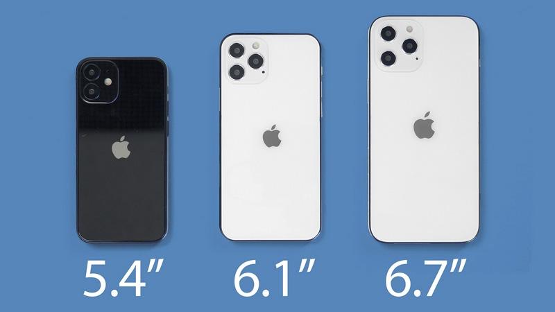 Kích thước màn hình iPhone 12