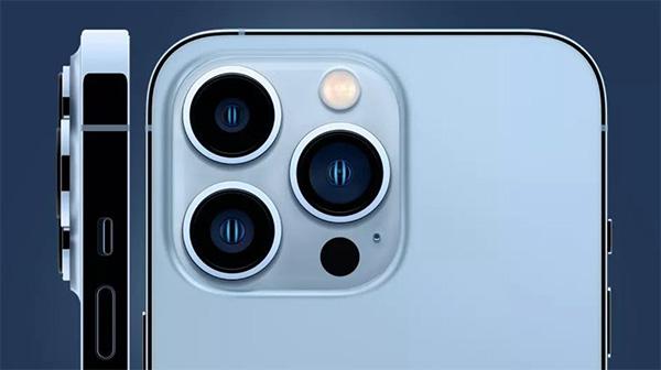 Camera trên iPhone 13 Pro.